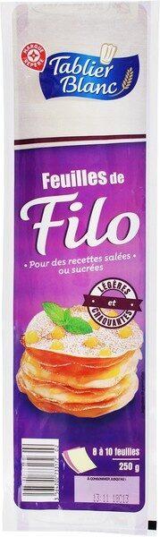 Feuilles De Filo - Prodotto - fr