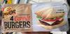 4 carrés Burgers prétranchés - Produit