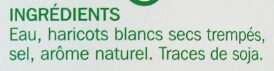 Haricots blancs - Ingredientes - fr
