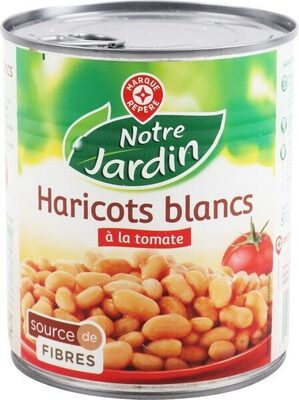 Haricots blancs tomate 530g pne - Product