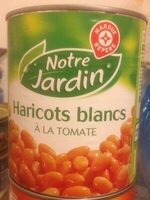 Haricots blancs tomate - Product - fr