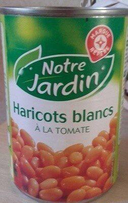 Haricots blancs tomate 1/2 - Produit - fr