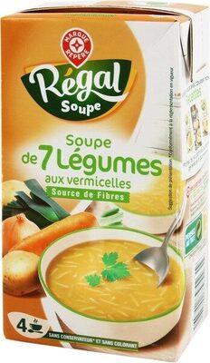 Soupe légumes vermicelles - Produit - fr