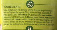 Soupe légumes vermicelles - Ingrédients - fr
