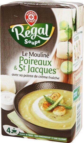 Velouté poireaux St Jacques - Produit - fr