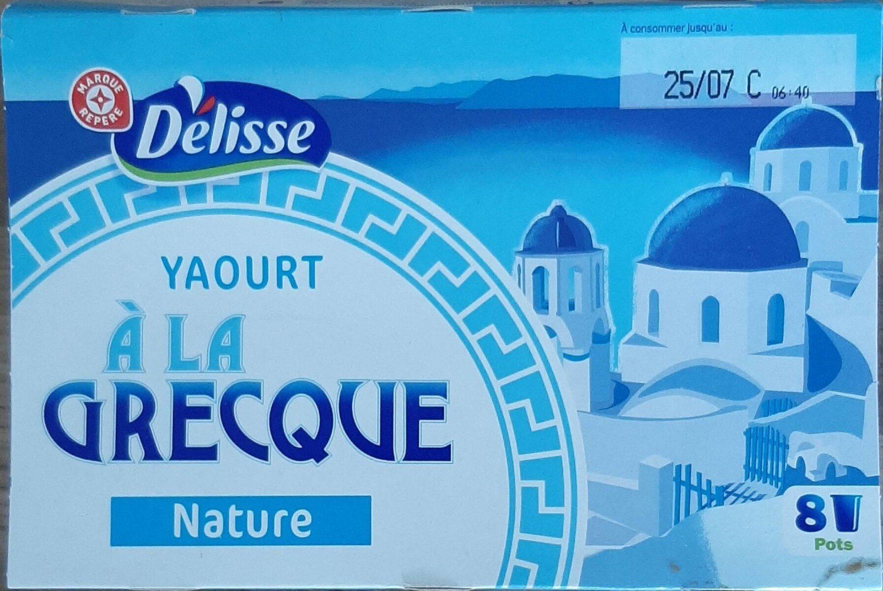 Yaourts à la Grecque - Produit - fr