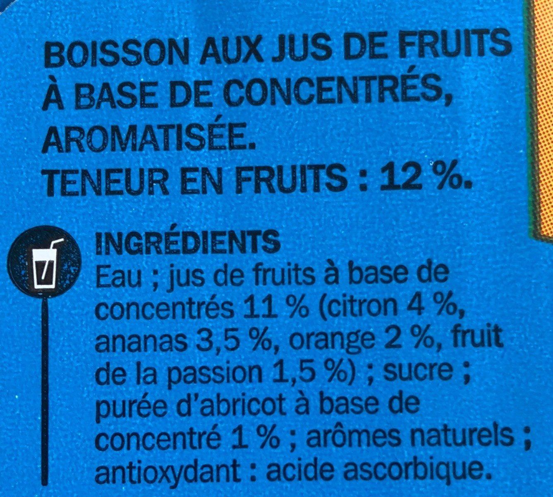Boisson tropical Jafun - 10 x 20 cl UNITÉ - Ingredienti - fr