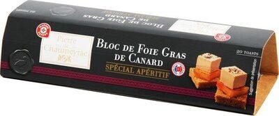 Bloc de foie gras spécial apéritif - Product - fr