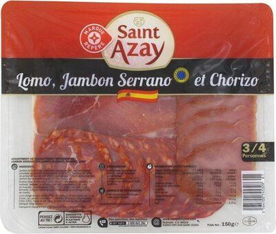 Assiette de de charcuterie espagnole - Produit - fr