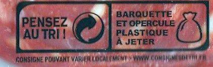 Assiette de de charcuterie espagnole - Instruction de recyclage et/ou informations d'emballage - fr
