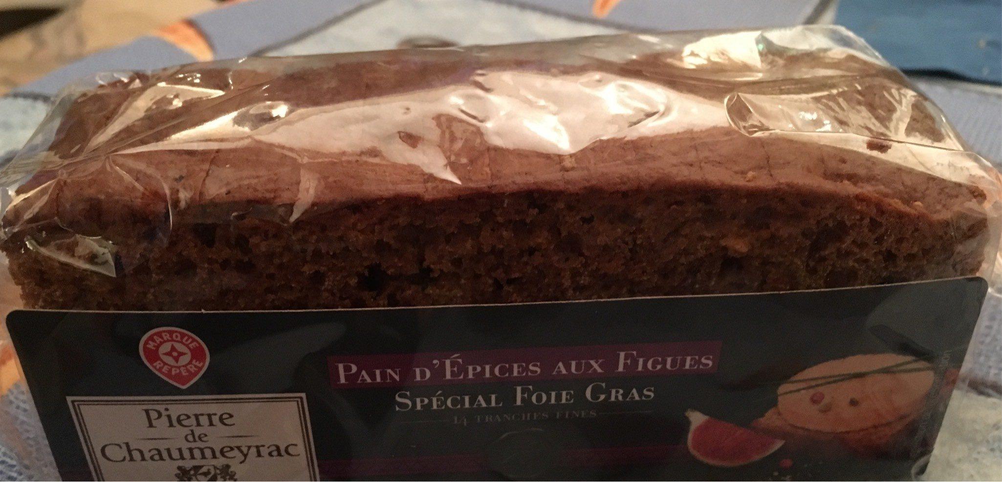 Pain d'épices aux figues - Product - fr