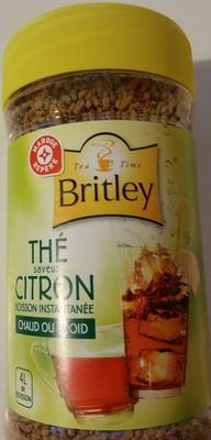 Britley - Boisson Instantanée Thé Saveur Citron - Product - fr