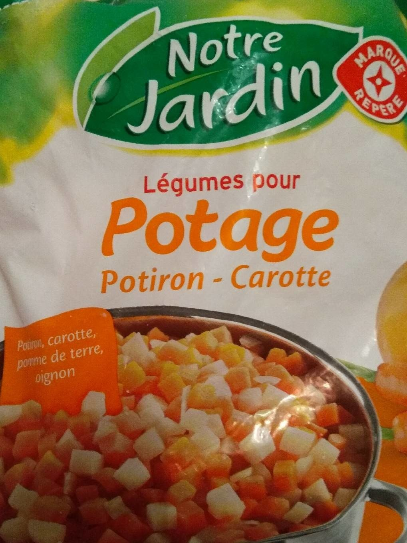 Légumes pour Potage Potiron - Carotte - Produit - fr
