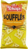 Crackers soufflés saveur fromage - Product