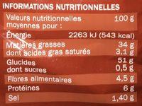 Chips ondulées saveur poulet rôti extra craquantes - Voedigswaarden