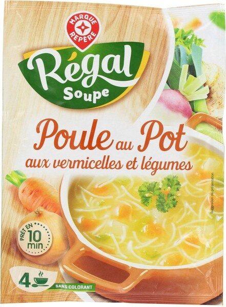 Soupe déshydratée poule au pot aux petits légumes - sachet - Product - fr