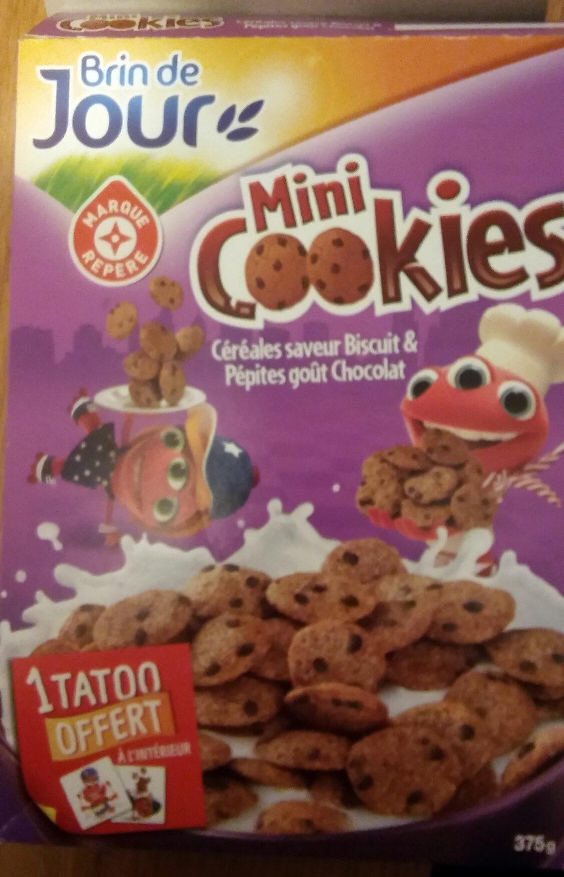 Céréales mini cookies - Produit - fr