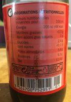 Sauce soja - Ingrediënten - fr