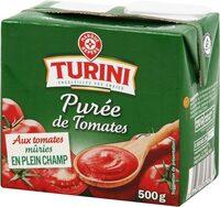 Purée de tomates - brique - Produit