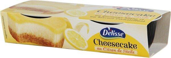 Cheesecake citron au citron de Sicile - Product