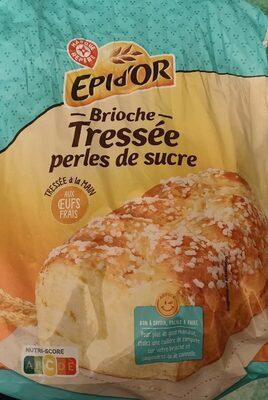 Brioche tressée aux perles de sucre - Produit - fr