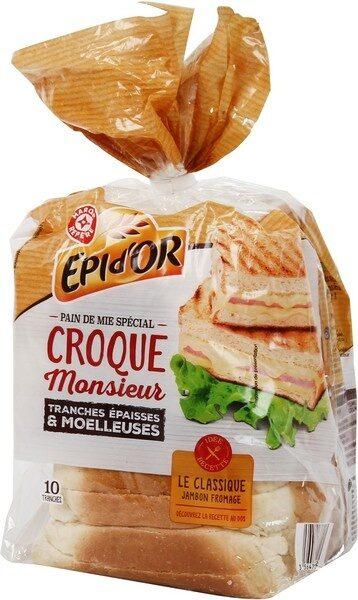 Pain de mie spécial croque monsieur - Product - fr