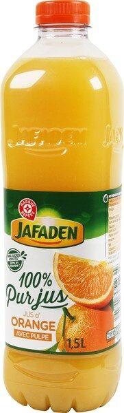 Pur jus d'orange pulpe - Product - fr