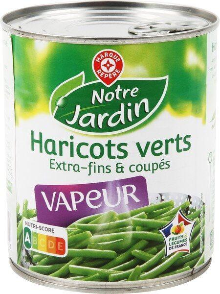 Haricots verts extra fins vapeur - Produit