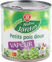 Petits pois doux vapeur - Produit - fr