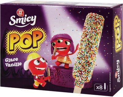 Bâtonnets Pop bonbons glace vanille x 8 - Product