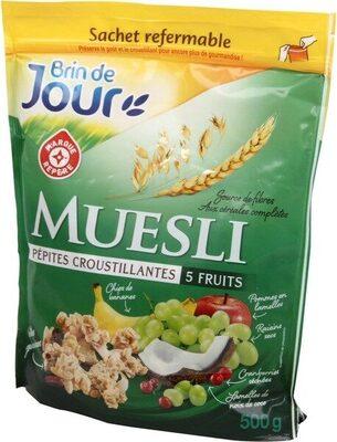 Muesli croustillant aux fruits - Produit - fr
