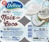 Fromage frais noix de coco - Produit