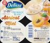 Fromage frais abricot et miel - Produit