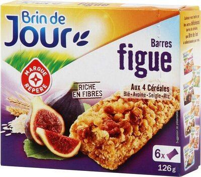 Barres céréales figue x 6 - Product - fr