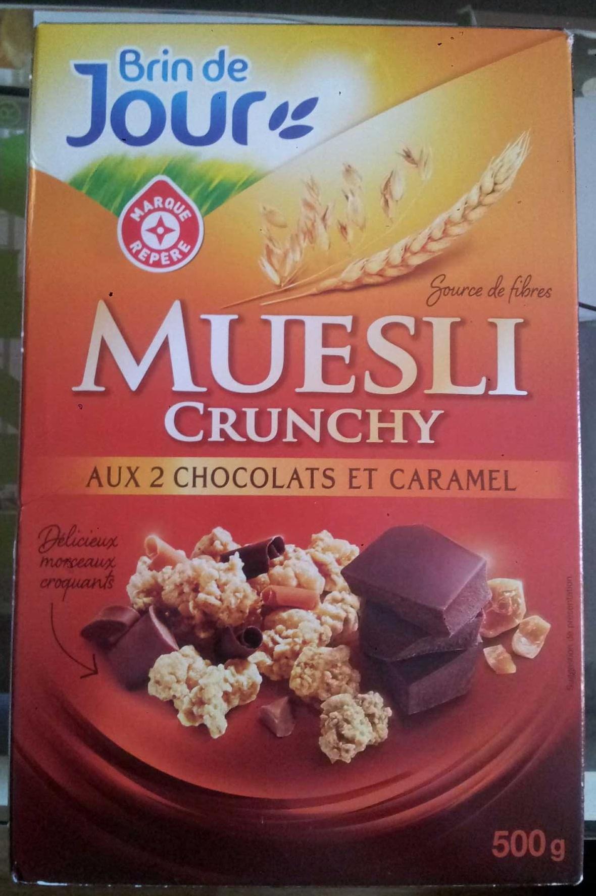 Muesli croustillant aux 2 chocolats et caramel - Produit - fr