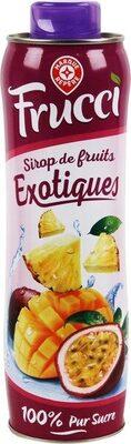 Sirop de fruits exotiques - Produit - fr