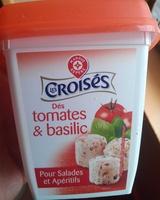 Dés tomates & basilic - Produit