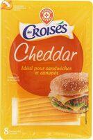 Cheddar 32% Mat. Gr. 8 tranchettes - Product - fr