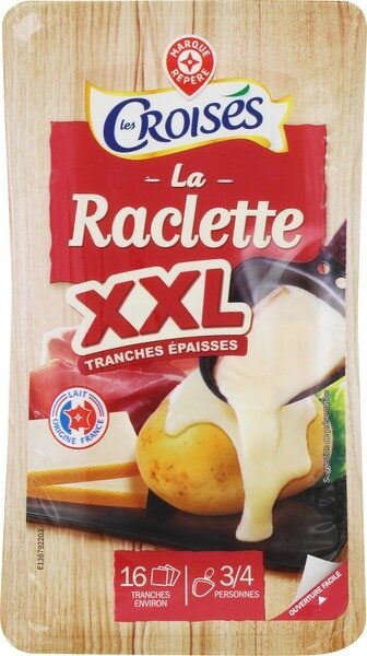 Raclette nat tranches xxl 26% - Product