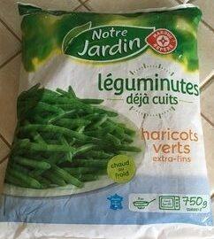 Haricots verts extra fins cuits - Produit - fr