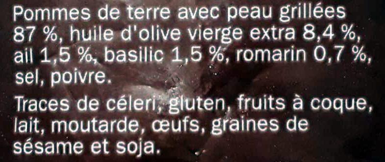 Pommes de terre grillées à la provençale - Ingrediënten - fr