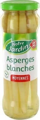 Asperges blanches Moyennes - Product - fr
