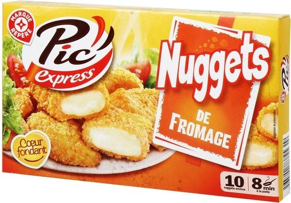 Nuggets de fromage x 10 - Product - fr