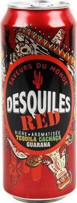 Bière RED aromatisée tequila et cachaça 5,9% vol. - Product