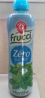 Frucci sirop menthe zéro sucres - Produit