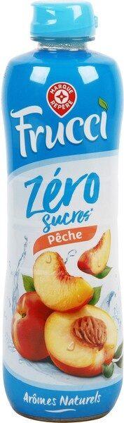 Sirop de pêche zéro sucres - Produit