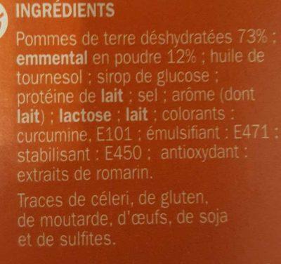 Purée emmental - Ingrédients - fr