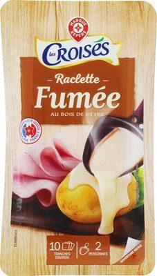 Raclette en tranches fumée 26% Mat. Gr. - Produit