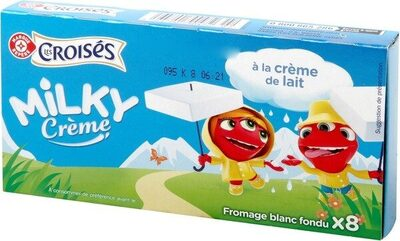 Fromage blanc fondu 30% Mat. Gr. x 8 - Produit - fr