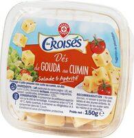 Dés de gouda au cumin 30% Mat. Gr. - Product - fr
